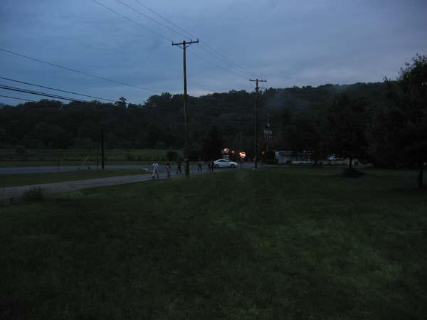 Crossing Wildwood Rd.