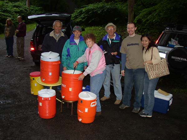 Checkpoint 1 volunteers!