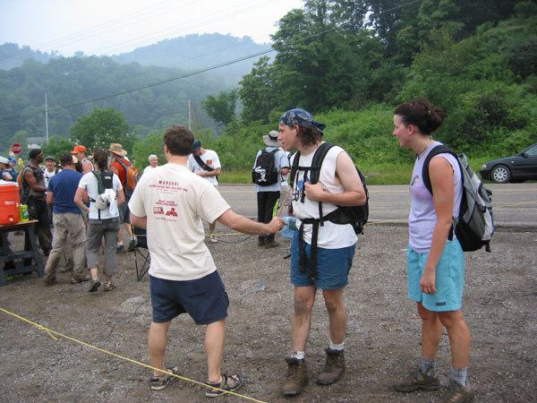 Scanning at Checkpoint 1