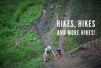 Hikes are on the calendar