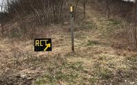 Rachel Carson Trail major reroute: Ridge Road